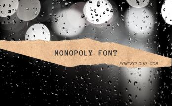 Monopoly Font Free Download