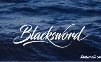 Blacksword Font Free Download [Direct Link]
